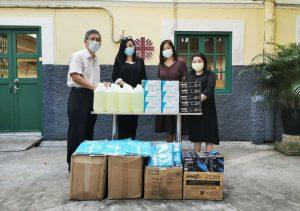 APE visited Caritas Macau
